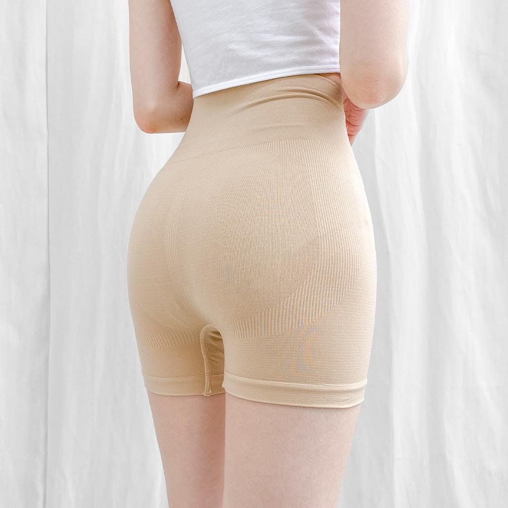 뱃살보정 힙업사각팬티 <br> 군살커버 보정속옷 속바지 이너 팬티 하이웨스트